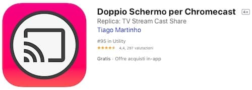 Chromecast con iPhone ed iPad